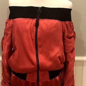 Off shoulder jacket